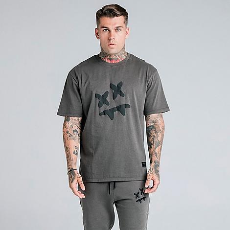 Siksilk T-shirts SIKSILK MEN'S X STEVE AOKI ESSENTIAL T-SHIRT