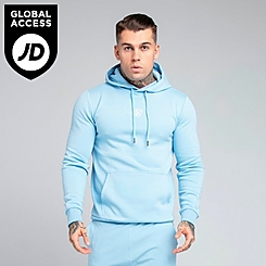 Men's SikSilk Chest Logo Hoodie