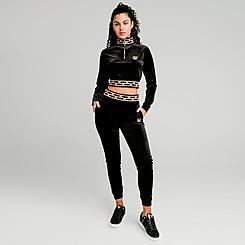 Women's SikSilk Velour Jogger Pants