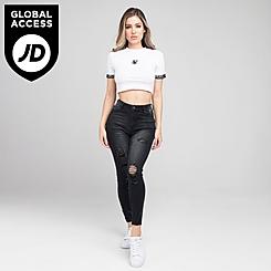 Women's SikSilk Skinny Denim Jeans