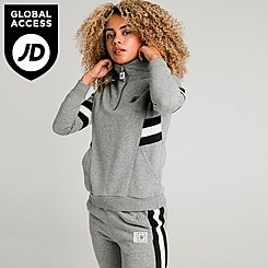 Women's SikSilk Quarter-Zip Fleece Top
