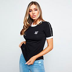 Women's SikSilk Tape T-Shirt