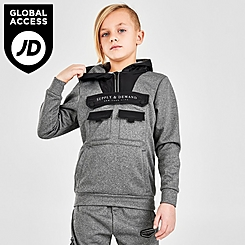 Boys' Supply & Demand Hazard Pullover Hoodie