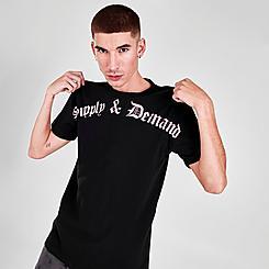 Men's Supply & Demand Gothic Script T-Shirt