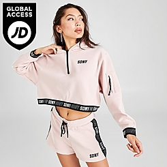 Women's Supply & Demand Valley Crop Hoodie