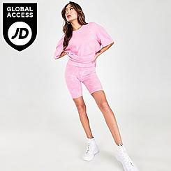 Women's Supply & Demand NYC Acid Bike Shorts