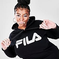 Women's Fila Curve Pullover Hoodie (Plus Size)
