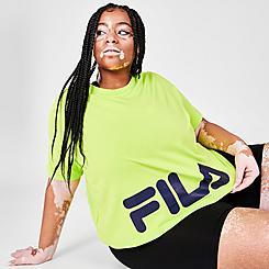 Women's Fila Ahead Of The Curve Crewneck T-Shirt (Plus Size)