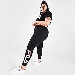 Women's Fila Clique Capri Leggings (Plus Size)