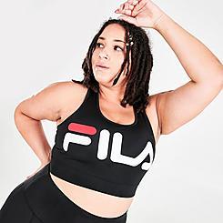 Women's Fila Treasure Performance Bra Top (Plus Size)