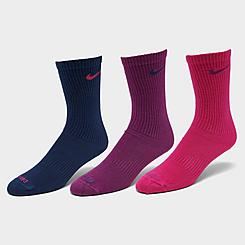 Nike Everyday Plus Lightweight Training Crew Socks (3 Pack)