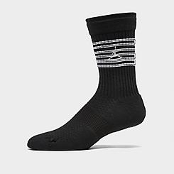 Men's Air Jordan Retro 4 Legacy Crew Basketball Socks