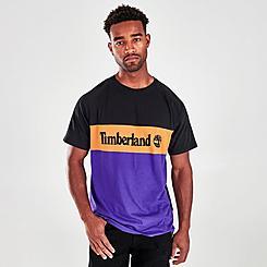Men's Timberland Cut and Sew Short-Sleeve T-Shirt