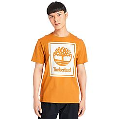 Men's Timberland Stack Logo T-Shirt