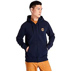 Men's Timberland Tree Logo Full-Zip Hoodie