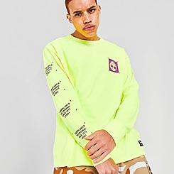Men's Timberland Graphic Long-Sleeve T-Shirt