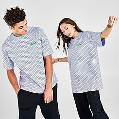 Lacoste LIVE Colored Stripe T-Shirt