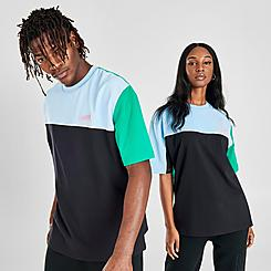 Lacoste LIVE Colorblock Cotton & Neoprene T-Shirt