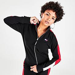 Women's Tommy Hilfiger Mock Neck Full-Zip Track Jacket