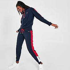 Women's Tommy Hilfiger Slant Flag Blocked Jogger Pants