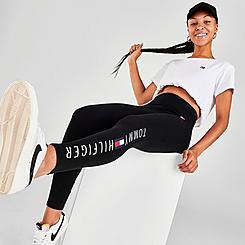 Women's Tommy Hilfiger Logo High-Rise Leggings