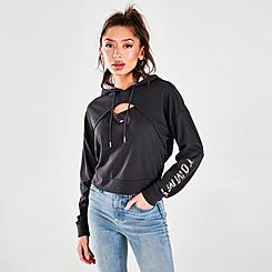 Women's Tommy Hilfiger Keyhole Pullover Hoodie