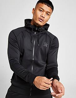 Men's Gym King Poly Full-Zip Hoodie