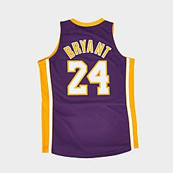 Men's Mitchell & Ness NBA Los Angeles Lakers Kobe Bryant Hardwood Classics Authentic Jersey