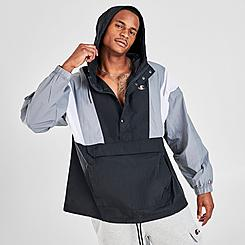 Men's Champion Snap Closure Manorak Jacket