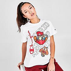 Women's Champion x Super Mario Bros™ Heritage Mario & Gumba T-Shirt