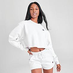 Women's Champion Reverse Weave Crop Crewneck Sweatshirt