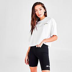 Women's New Balance Athletics Crop T-Shirt