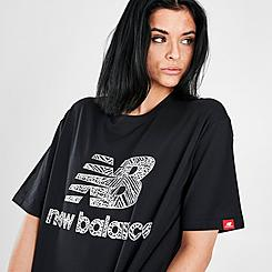 Women's New Balance Athletics Animal Print T-Shirt