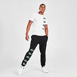 Men's Lacoste SPORT Crocodile Print Jogger Pants
