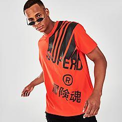 Men's Superdry Energy Barcode T-Shirt